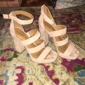 Marina strapped platform sandal